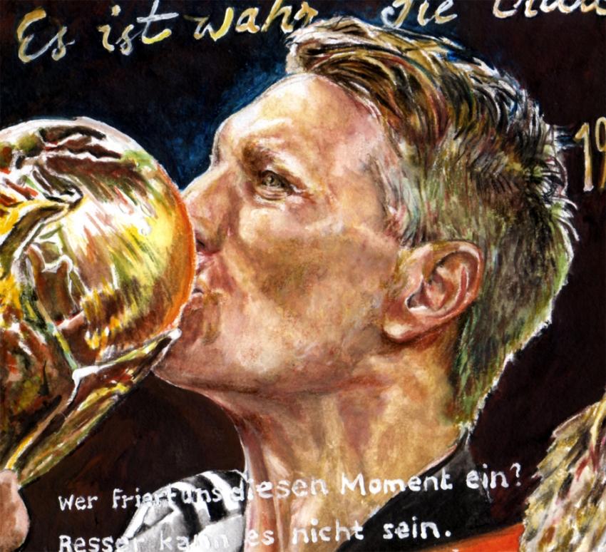 Bastian Schweinsteiger by Kerstin